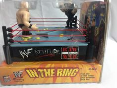 WWF Raw Is War Attitude Era Wrestling Ring Game Stone Cold And The Undertaker