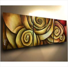 Abstract Art Painting modern Contemporary DECOR Michael Lang certified original