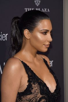 "Kim Kardashian Photos Photos - Kim Kardashian West attends Harper's Bazaar's celebration of ""ICONS By Carine Roitfeld"" presented by Infor, Laura Mercier, and Stella Artois  at The Plaza Hotel on September 9, 2016 in New York City. - Harper's Bazaar Celebrates 'ICONS by Carine Roitfeld' Presented by Infor, Laura Mercier, and Stella Artois - Arrivals"