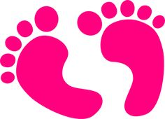 colorful footprints clipart - Google Search