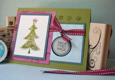 Suspension Card  by Beate Johns    Use simple supplies to create a fun, interactive element for your cards.
