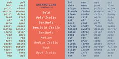 Check out the Antarctican font at Fontspring.