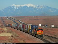 RailPictures.Net Photo: BNSF 4141 BNSF Railway GE C44-9W (Dash 9-44CW) at Winslow, Arizona by Dave Carney