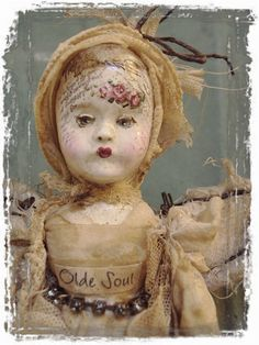 Gypsy Fairy Olde Soul Art Doll by Mosshillstudio on Etsy570 x 760 | 112.8 KB | www.etsy.com