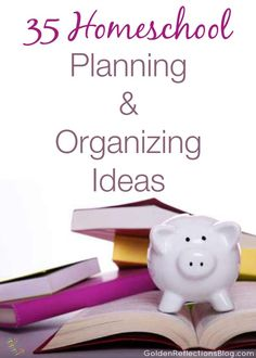 35 Homeschool Planning And Organizing Ideas