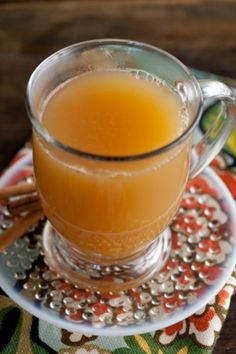 Hot Spiced Apple-Pear Cider