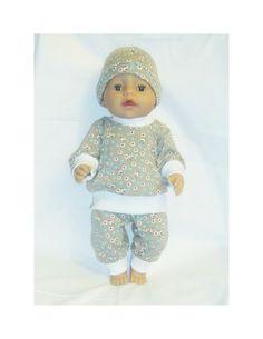 Dukkeklær til dukke 43cm, tilbud-passer både til gutt og jente