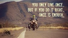 You only live once.. Click here to get more inspired: https://www.motoquest.com/guided-motorcycle-tours-alaska/