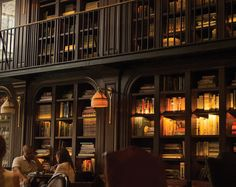 A bookish ambience is what you will find at the Library at the NoMad Hotel…