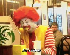 Eric Andre Pranks McDonalds As A Drunk Ronald McDonald. Look the video up! Funny Pictures For Kids, Funny Kids, Funny Photos, Funny Family, Moving Pictures, Funny Cartoons, Funny Comics, Funny Jokes, American Funny Videos