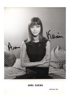 The perfect Anna Karina.