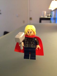 New Thor from avengers tower set