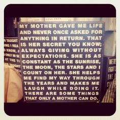 A mother.. (mom,mothers love,daughter,son,quotes,family)