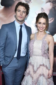 Pin for Later: These Cute Photos of Emilia Clarke and Sam Claflin Might Just Send You Over the Edge