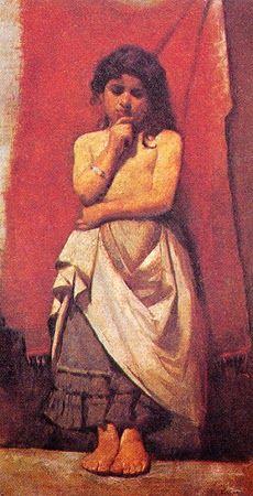 A Caboclinha - Eliseu Visconti -  O mais importante artista plástico brasileiro da primeira década do século XX