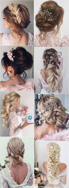 Best Ideas For Wedding Hairstyles : 65 New Romantic Long Bridal Wedding Hairstyles to Try / Ulyana Aster www.ulyanaa