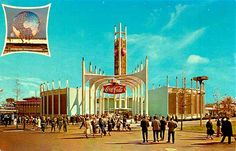 Coca Cola Pavilion at the 1964 New York World's Fair.