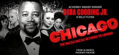Chicago is bringing the real razzle-dazzle back to London! Winner of six Tony Awards, two Olivier Awards and a Grammy, and now starring Academy Award-Winner Cuba Gooding Jr in his West End stage debut, the sexiest, sassiest, most sophisticated Broadway musical in history is celebrating 21 years of standing ovations in style.