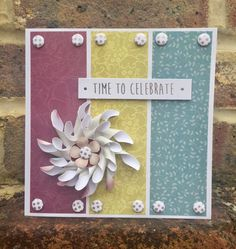 Card created using Floristry Bloom Collection, made by Julie Hickey www.craftworkcards.com