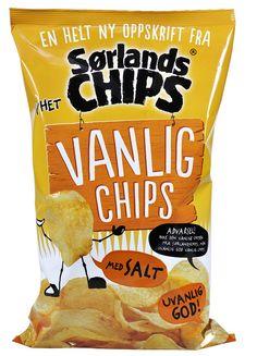 2711588 Sørlandschips Vanlig Chips Salt by Synnove Finden, via Flickr