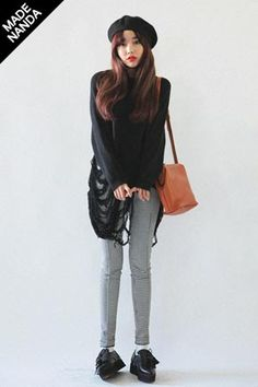 Love this punk look <3 #purse #dark #punk