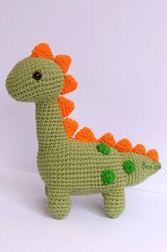 Ben'ce: Amigurumi Dinosaur