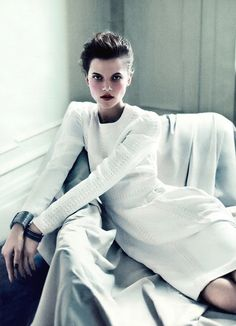 Valentino, kasia struss photographed by sebastian kim, styled by siobhan bonnouvrier for allure