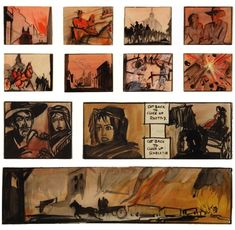 With storyboards on our mind lately thanks to their use in both the opening sequence and the climax of Argo, we decided to put together a gallery of our favorites from iconic movies.