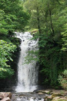 Brecon Beacon waterfall