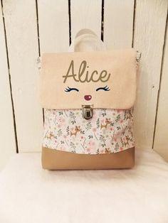 Borboleta Diy, Nursery Bag, Diy Sac, Ideas Prácticas, Kids Bags, Kids Backpacks, Handmade Bags, Baby Toys, Kids Outfits