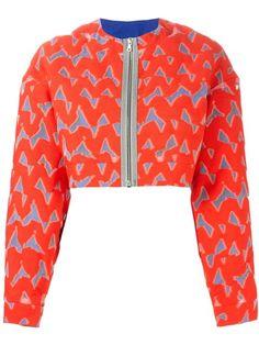 MARKUS LUPFER 'Lexi' cropped jacket. #markuslupfer #cloth #jacket