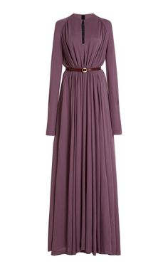 Arcilla Viscose Jersey Dress by Petar Petrov Modest Dresses, Elegant Dresses, Pretty Dresses, Dressy Outfits, Fashion Outfits, Cocktail Party Outfit, Iconic Dresses, Muslim Fashion, Pakistani Dresses