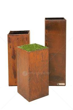 Home :: Outdoor Decor  :: Planters, Pots, Vases & Urns :: Outdoor Decor - Box Tower Planter