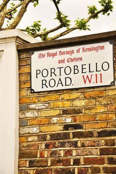 #Portobello Market in #London