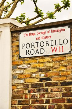 #Portobello Market in #London