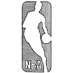 NBA logo registered as trademark on this day in 1989. First use in 1969.   #NBA #basketball #branding #trademark #history #logo #trivia