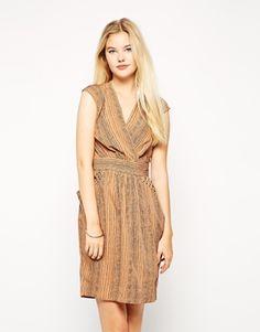 Bild 1 von Closet – Bedrucktes Kleid mit Nieten an den Taschen