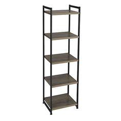 Household Essentials 5 Tier Storage Tower Shelf with Meta... https://www.amazon.com/dp/B01FV3NKBG/ref=cm_sw_r_pi_dp_x_PBIsybP8G83HZ