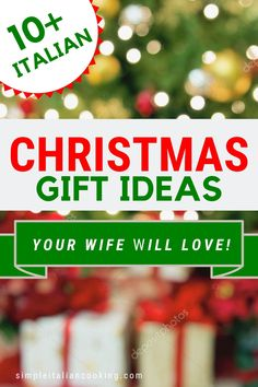 Use this creative Italian gift guide to find the perfect unique and fun Christmas gift for your wife! Be inspired with these awesome ideas that fit any budget! Christmas Gifts For Wife, Gifts For Family, Holiday Gifts, Italian Christmas, Practical Gifts, Meaningful Gifts, Thoughtful Gifts, Italian Recipes, Special Gifts