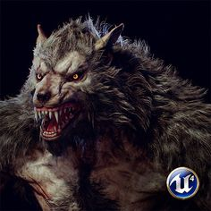 Here is a Werewolf I did for Spectral Arts studio. it took around 2 weeks and I've done the Concept, Model, Texture and Material setup in These images have captured from Unreal engine. Fantasy Rpg, Dark Fantasy, Werewolf Art, World Of Darkness, Big Bad Wolf, Classic Monsters, Creature Feature, Mythical Creatures, Spirit Animal