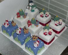 Christmas - Square Cupcakes