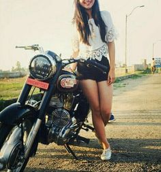 Punjabi Models Stylish Girl Indian Girls Girl Riding Motorcycle Biker Girl