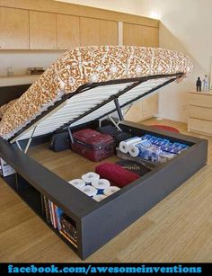 Space Saving Bed!