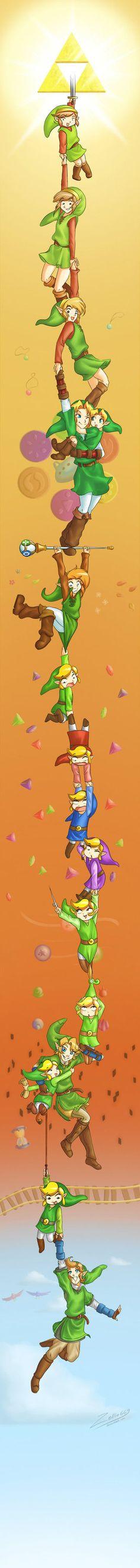 Epic Zelda Generations