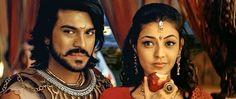 Ram Charan Teja and Kajal Aggarwal in *Magadheera* (2009) | Film Screening Room: Magadheera - A Telugu Action Epic