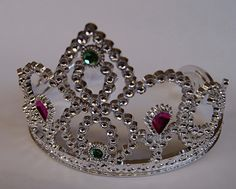 "Diadeem tiara met strass voor meisjes ""Prinses"" - Tiara for girls ""Princess"""