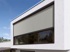 markilux 876 - Προστασία από τον ήλιο και τα αδιάκριτα βλέμματα. Home Automation, Blinds, Solar, Windows, Outdoor Decor, Interiors, Design, Shades Blinds, Ramen