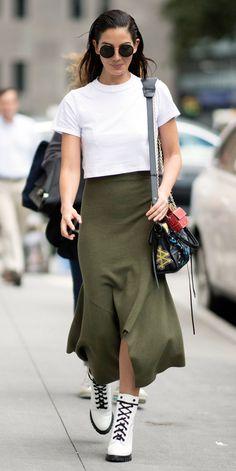 The Best of Victoria's Secret Model's Street Style | InStyle.com Lily Aldridge