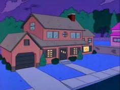 725 Evergreen Terrace Lovejoy's house