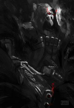 Overwatch: Reaper by JohnYauDesign